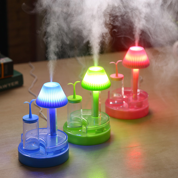 Humidificateur LED lampe de nuit