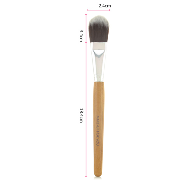 Bamboo Handle Cream Foundation Brush