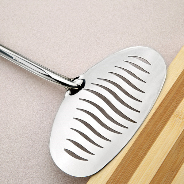 Kitchen Equipment Cookware Stainless Steel Fish Fry Leakage Shovel