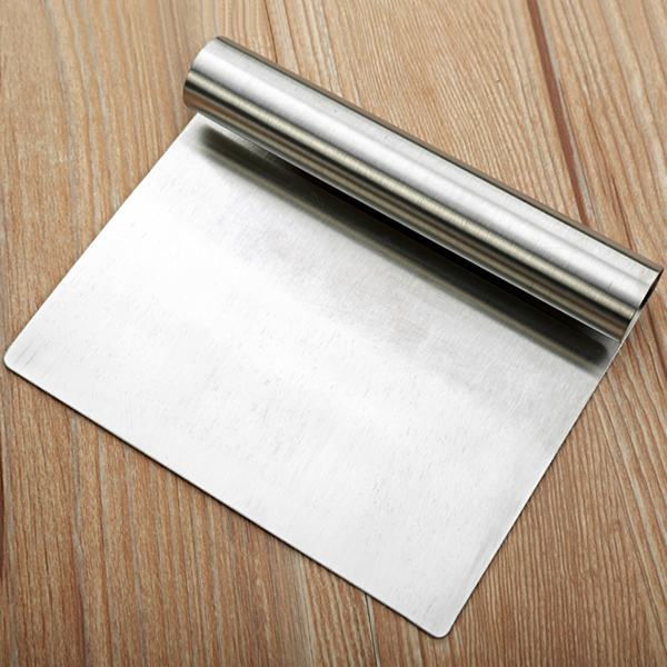Stainless Steel Pastry Dough Scraper Cake Decoration Tool