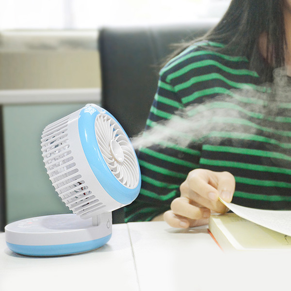 Palmtop Air Conditioner USB Mini ventilateur Humidificateur