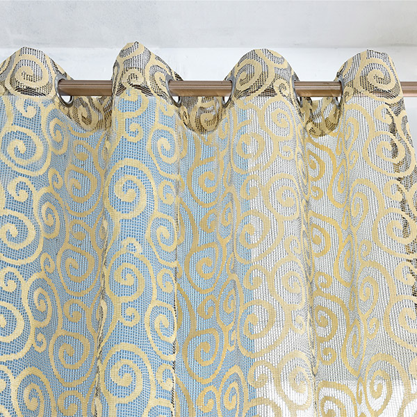 1Pcs Jacquard Home Decor Voile Shading Curtain