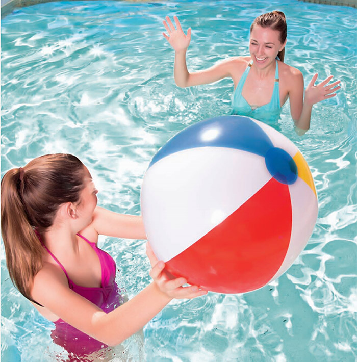 Inflatable Sports Ball for Beach Game Outdoor Activities