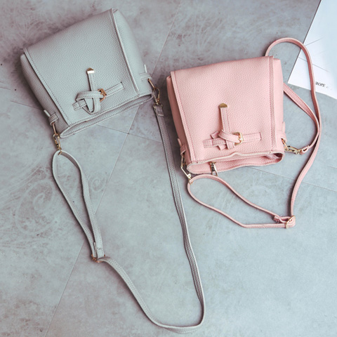 Buckle Strap Detail 4 Piece Crossbody Bag Set