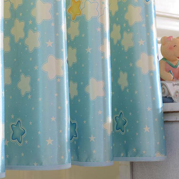Cartoon étoiles Grommet Top Blackout Curtain