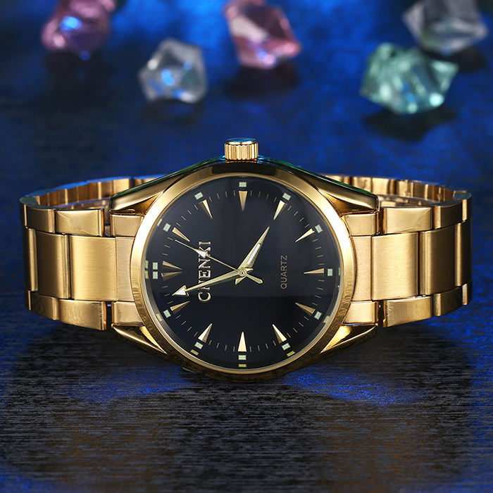 CHENXI Stainless Steel Analog Formal Watch