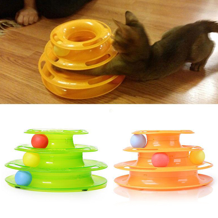 Cat Toy Pet Toy boule dans la piste
