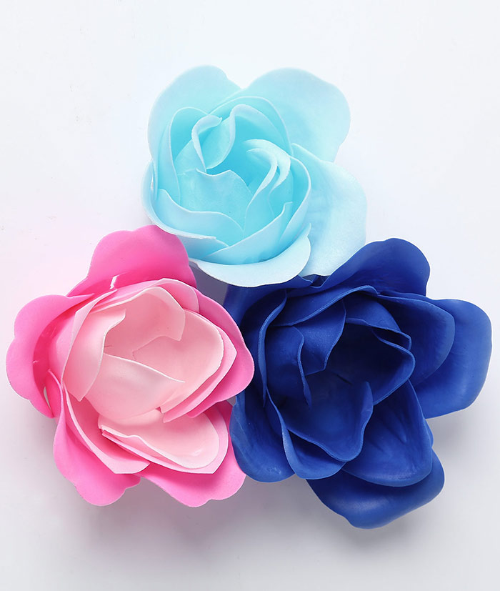 1 Box 16 Grids Artificial Soap Rose Bowknot Mother's Day ...