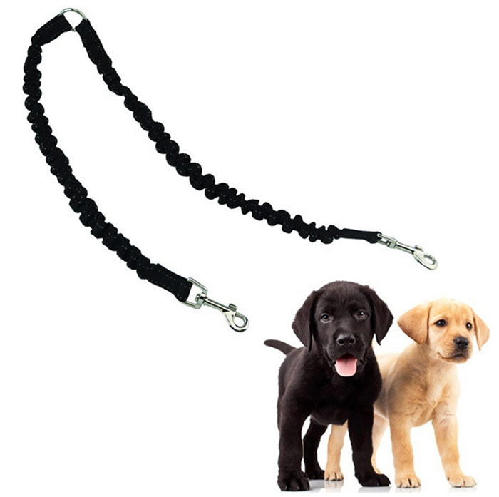 Nylon Stretch Buffer Double End Dog Dog Traction Rope