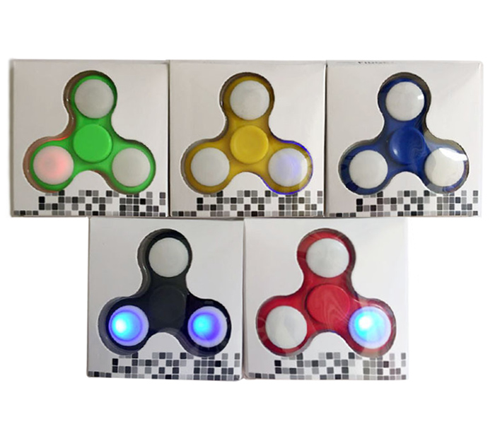 Cambio de color LED Fidget juguete Spinner mano