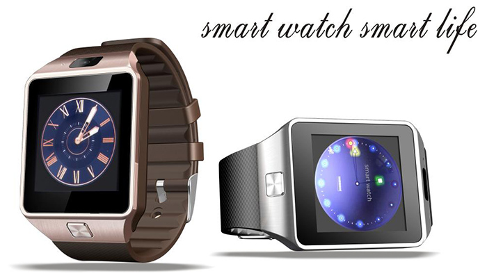 2016 New DZ09 Bluetooth Smart Watch with Pedometer Camera Single SIM