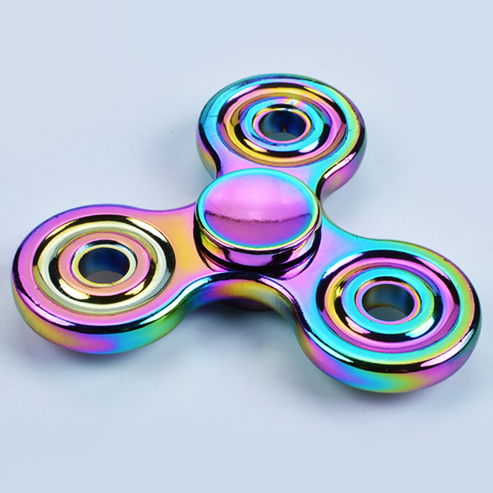 Colorful Stress Relief Toy Rotating Finger Gyro Finger Spinner