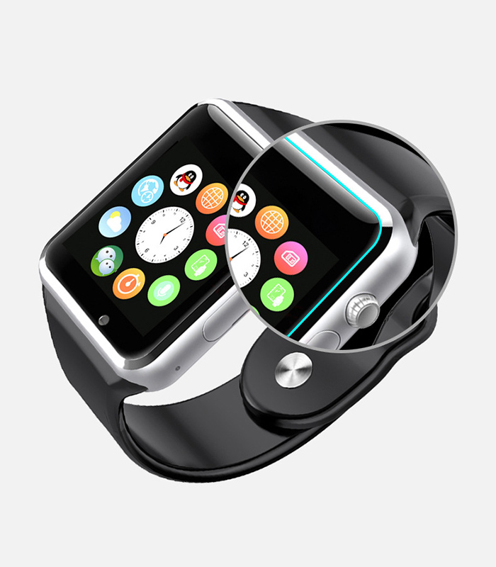 A1 Bluetooth Smart Watch Phone with Pedometer Camera Single SIM