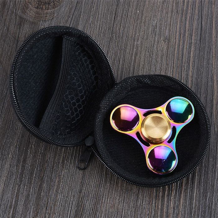 Gyro Spinner Antistress Couleur Arc-En-Ciel