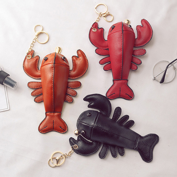 Funny Lobster Shaped Coin Purse