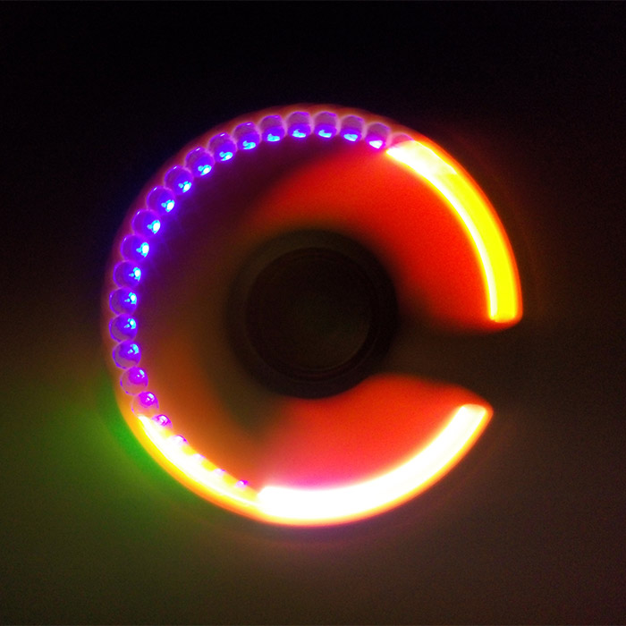Focus Toy LED Light Rotating Finger Gyro
