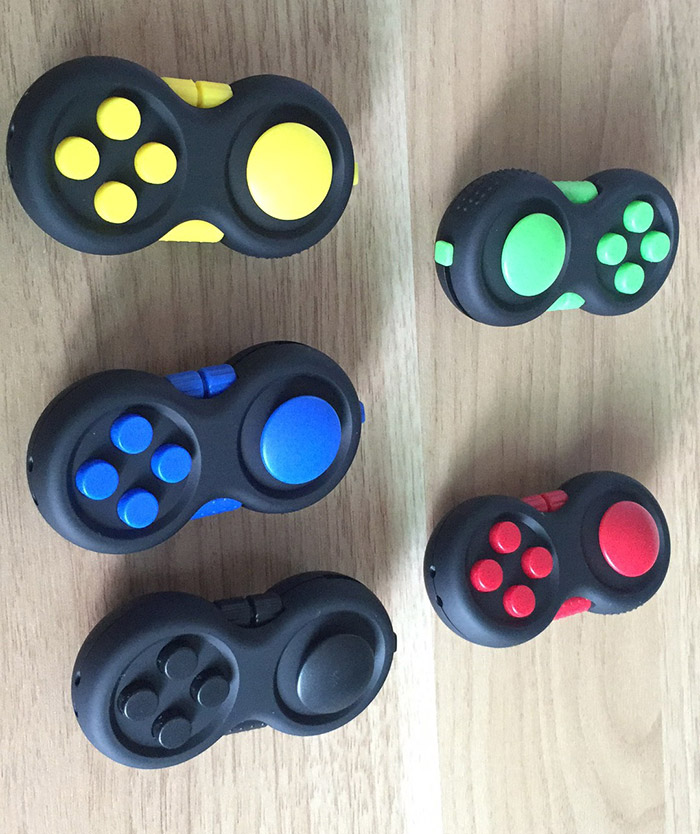 Stress Relief Finger Toy EDC Fidget Pad Gamepad