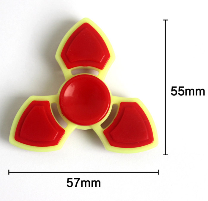 Trois Leaf Finger Gyro Stress Relief Toy Fidget Spinner