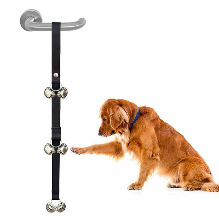 Dog House Training Door Bell Rope Fournitures pour animaux de compagnie