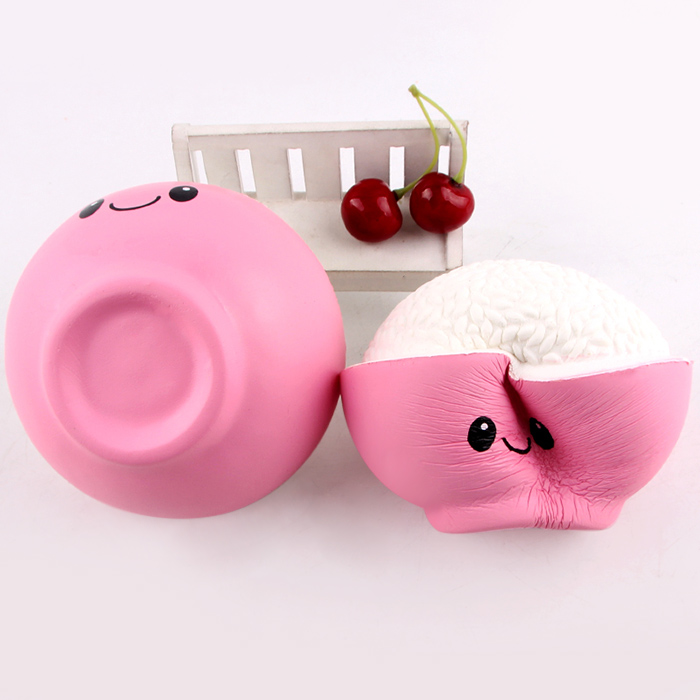 Cartoon Rice Anti-stress Squishy Toy