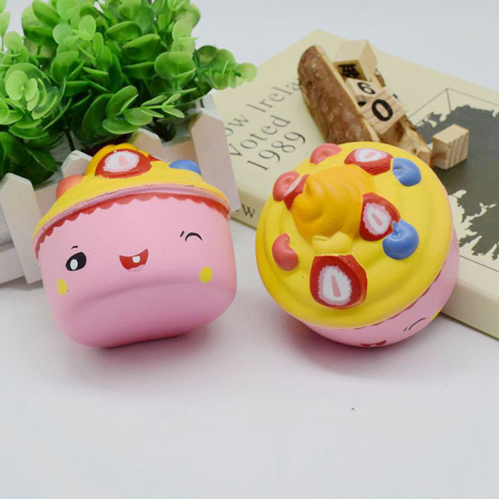 Ice Cream Cup Slow Rising Squishy Food Simulation Toy