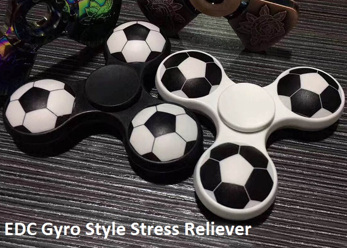Spinner Rotatif Gyro Motif Ballon de Football