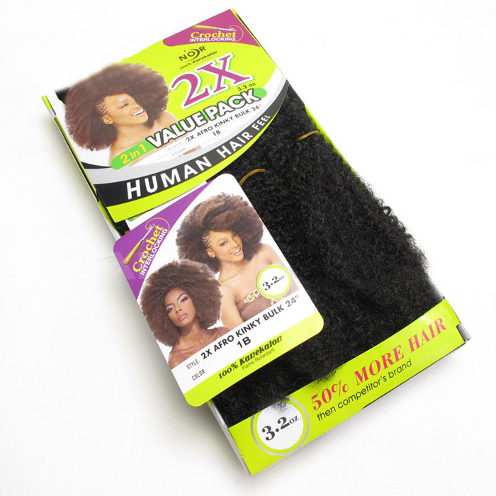 Long Shaggy Afro Kinky Cheveux synthétiques bouclés