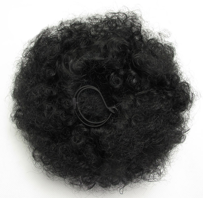 Shaggy Afro Kinky Curly Synthetic Hair Bun
