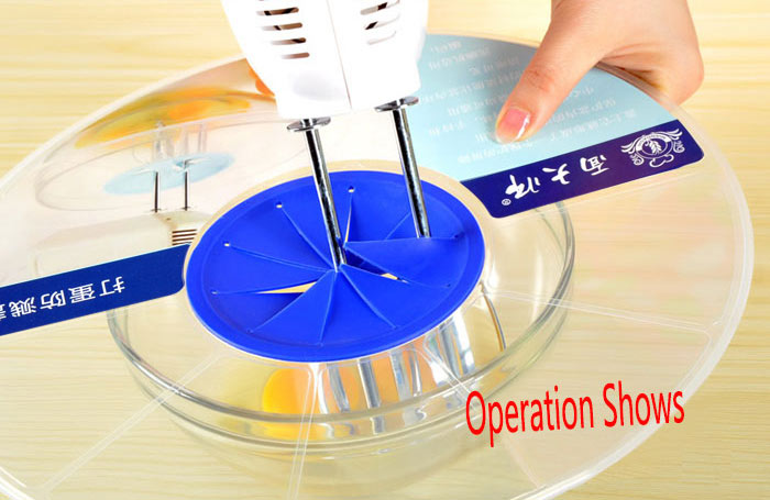 Kitchen Tool Egg Beater Sprayproof Cover