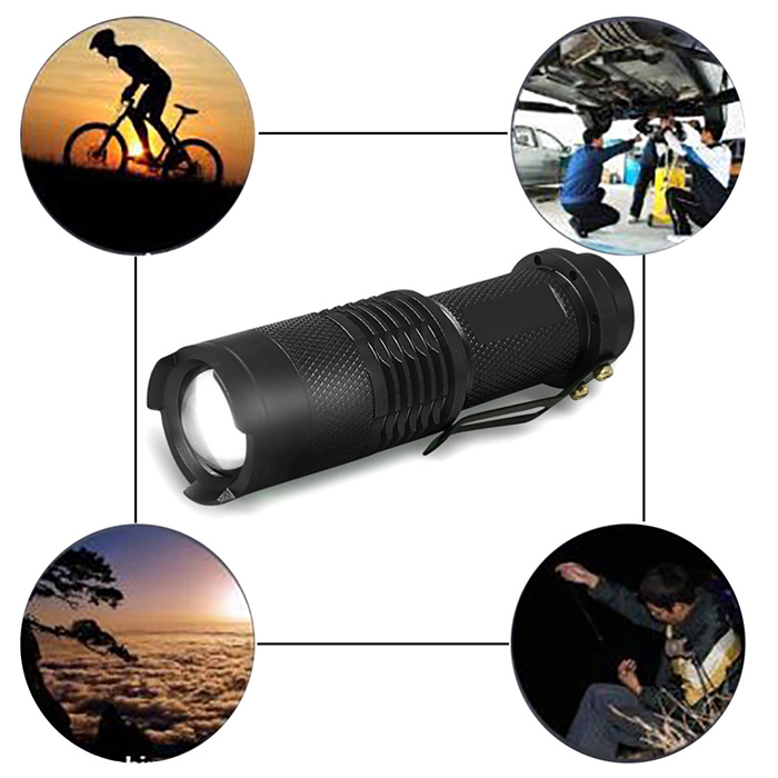 Outdoor Sport Hiking Camp Headlamp Cycling Flashlight
