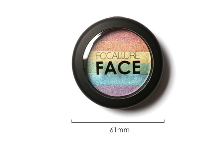 Cosmétiques Maquillage Rainbow Highlighter