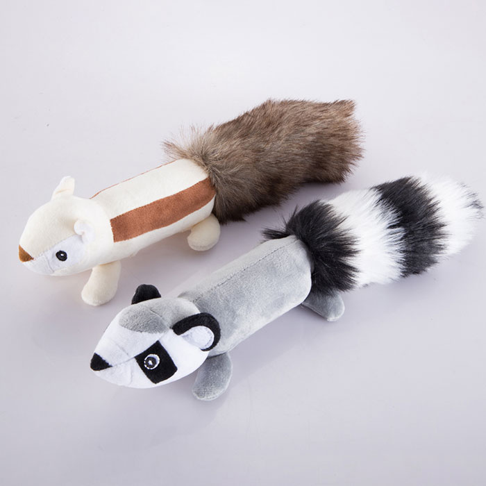 Peluche Big Tail Animal Toy pour chien