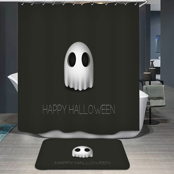Imperméable Happy Halloween Ghost Shower Curtain
