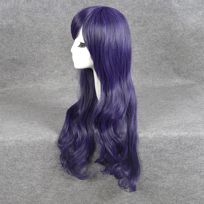 Long Side Bang Wavy Love Live Nozomi Tojo Cosplay Perruque