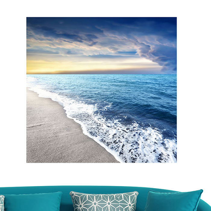 Surf Beach Patterned Multifunction Floor Wall Art Painting