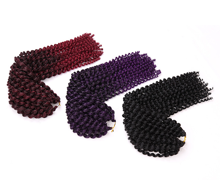 Long Afro Kinky Princess Curl Braids Cheveux Synthétiques