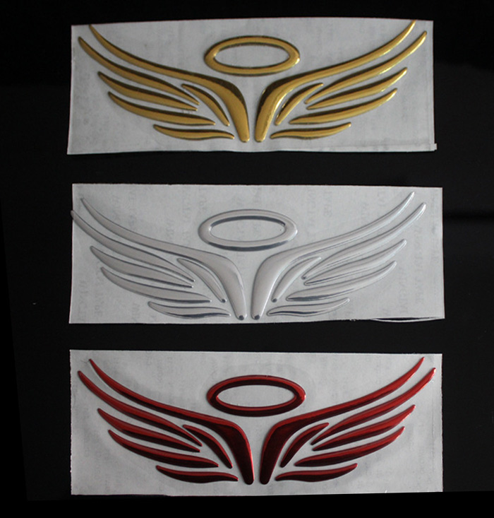 Wings Pattern Decoration Stickers voiture