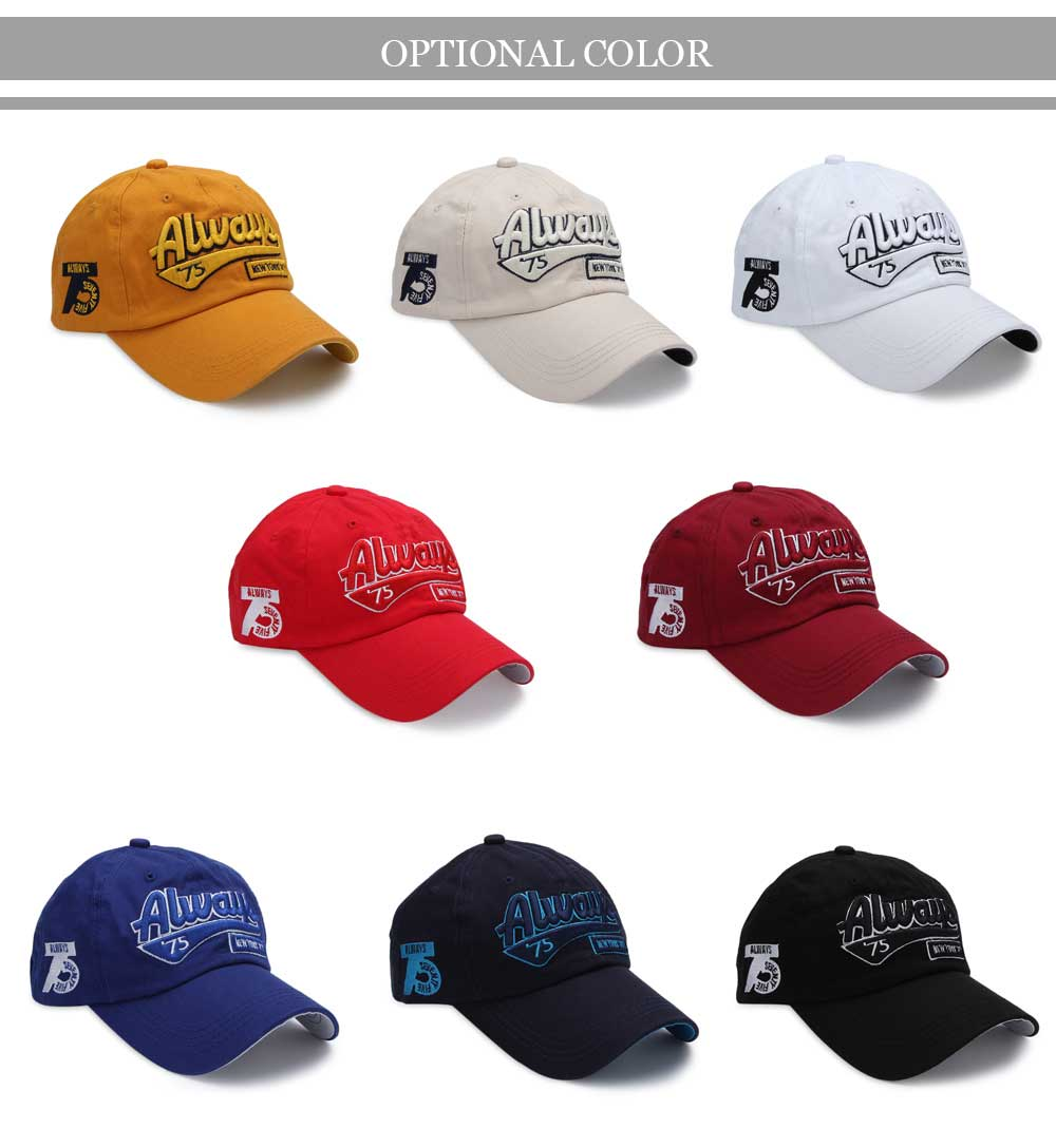 Casual Letter Print Hip-hop Sun Protection Baseball Hat for Unisex