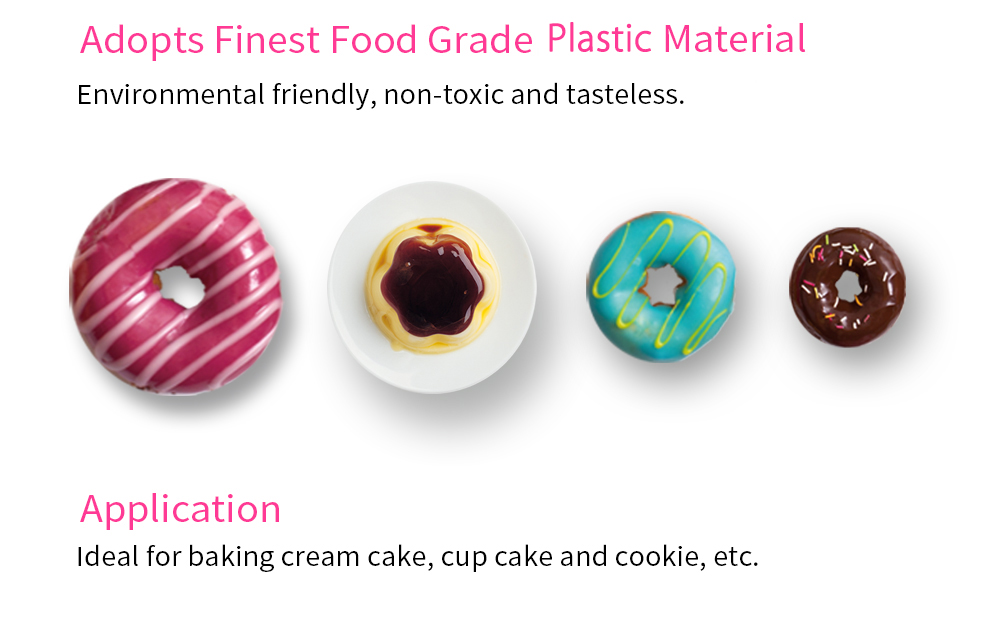DIY Cup Cake Fondant Baking Tools Paste Decorating Kit