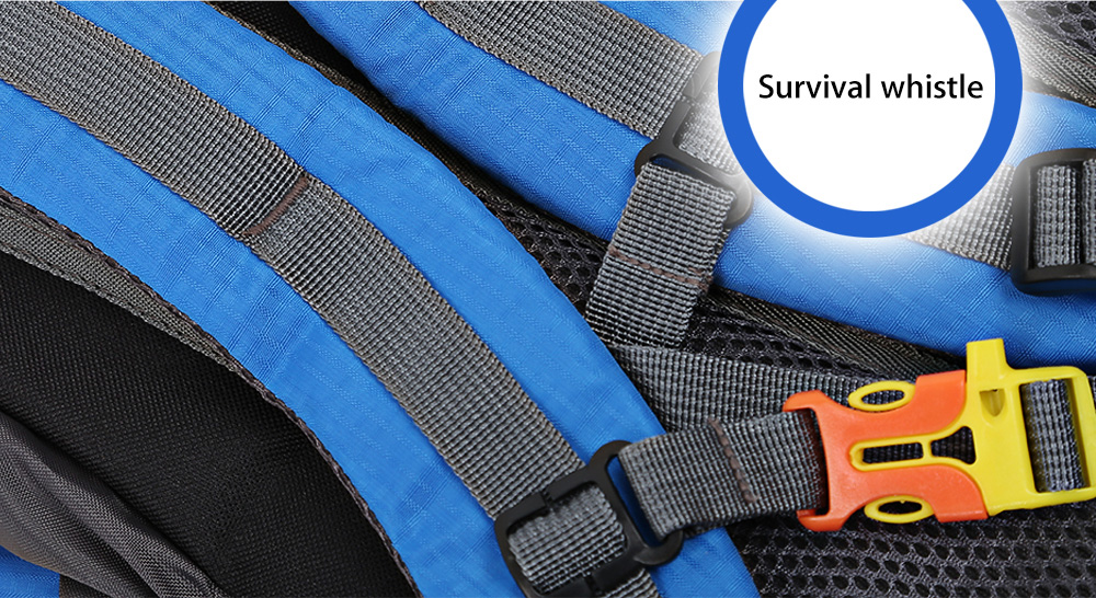 HUWAIJIANFENG Outdoor Sport Traveling Climbing Backpack Multifunctional School Bag