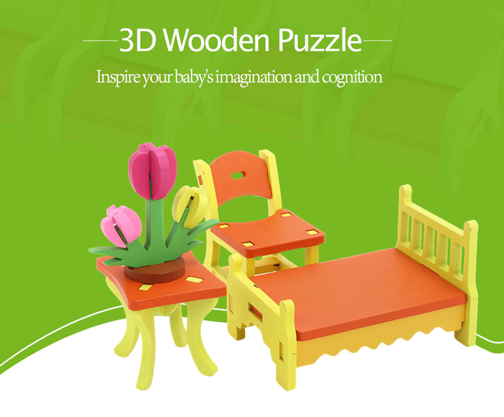 Muwanzi 3D Wooden Puzzles Kids Early Educational Toys