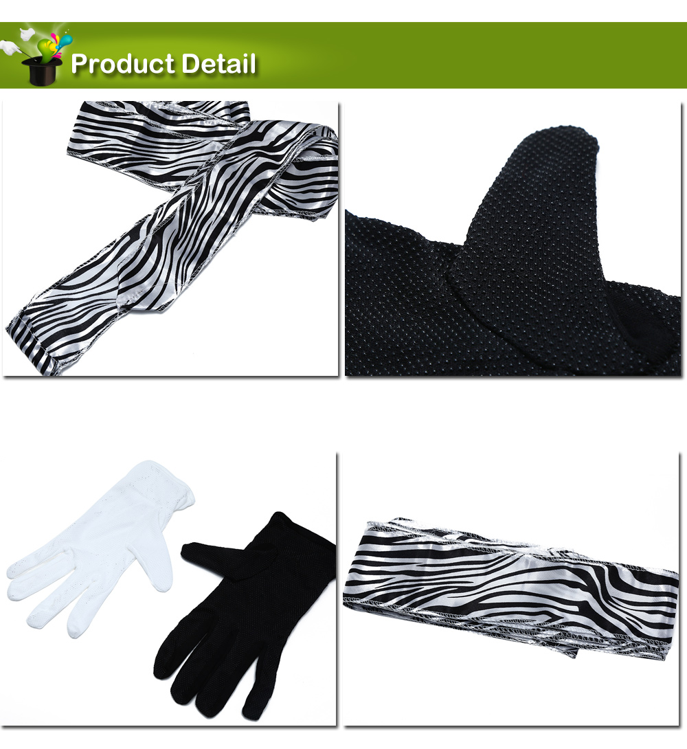 Gants professionnels en écharpe Stage Magic Prop