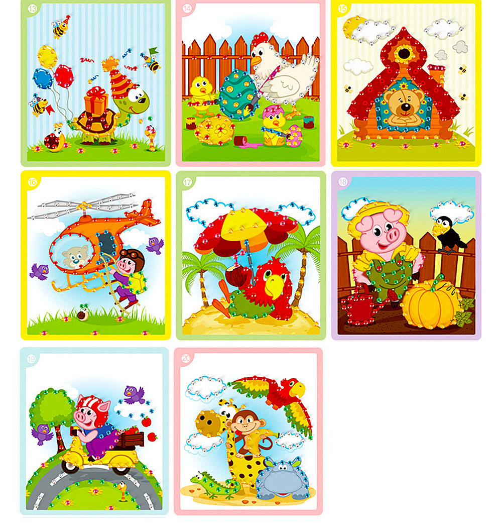 Sticky Diamond Painting Handmade Toy pour enfants