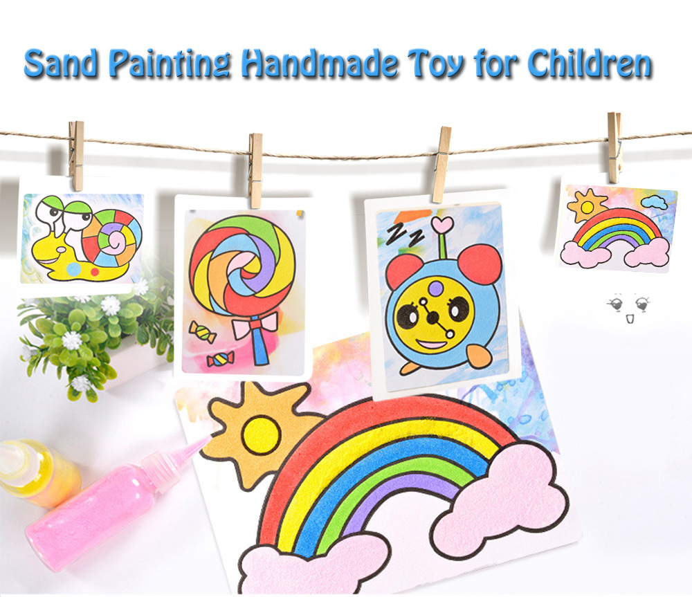 Sand Painting Handmade Toy for Children