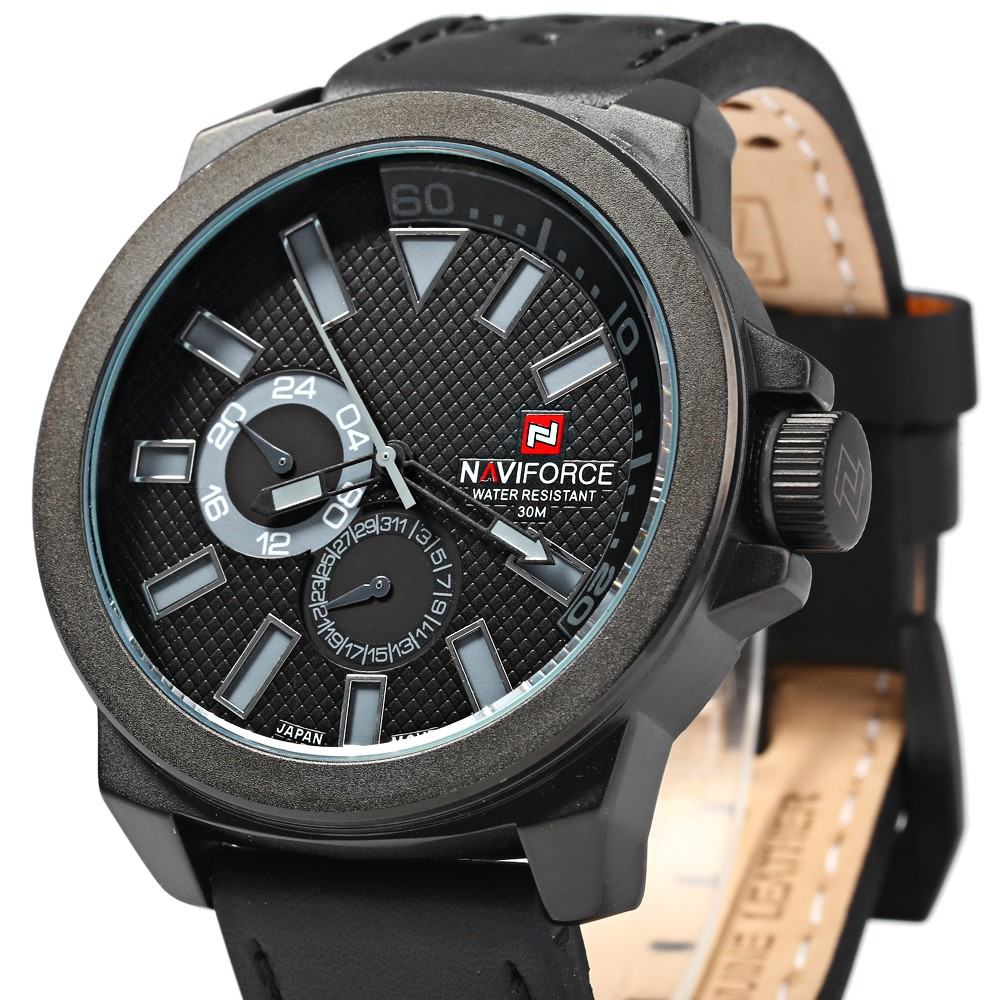 Naviforce 9064 Male Quartz Watch with Date Function
