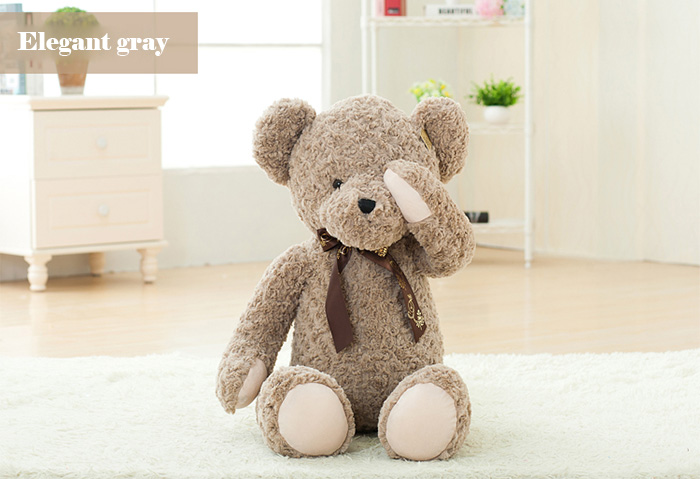 48cm Rebel Shy Ours en Peluche Doux et Confortable Belle Bed Accompagner