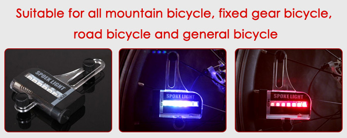 14 Luces LED Radio Bicicleta LEADBIKE A02 1 Grado Impermeable IPX5