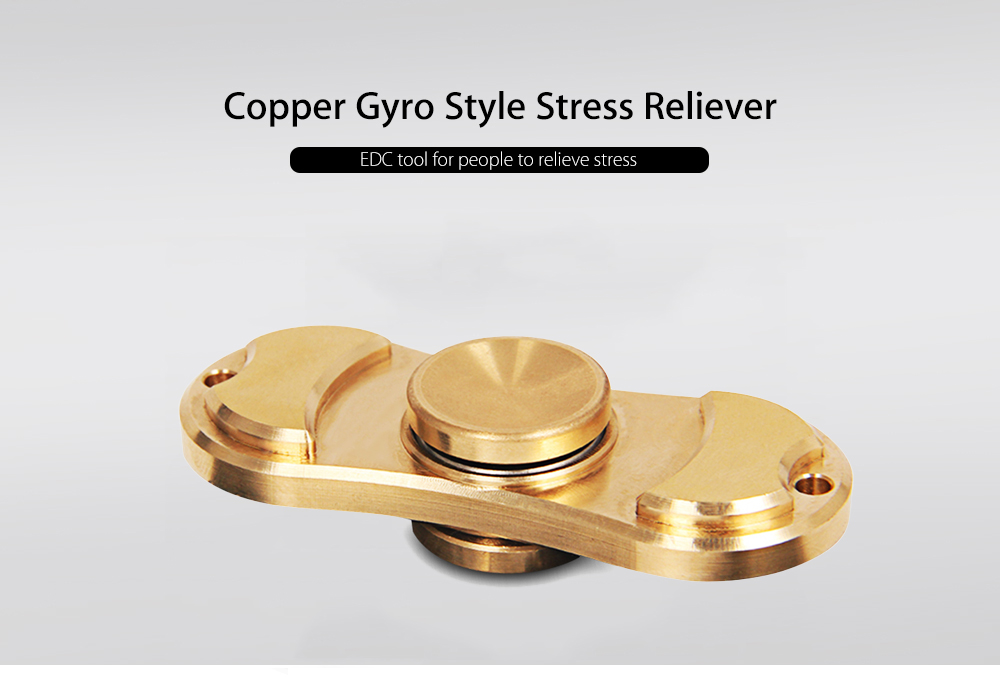 ZOYO Copper Bearing Gyro Style Stress Reliever Pressure Reducing Toy for Office Worker