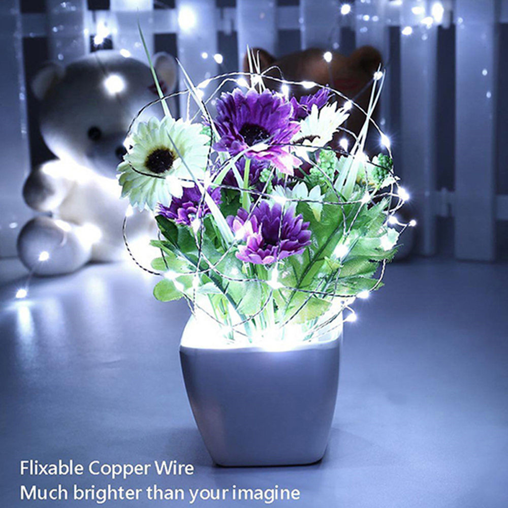 Supli 5M 50 LEDs USB Multi Colors Holiday String Lampes Lampes Éclairage Home