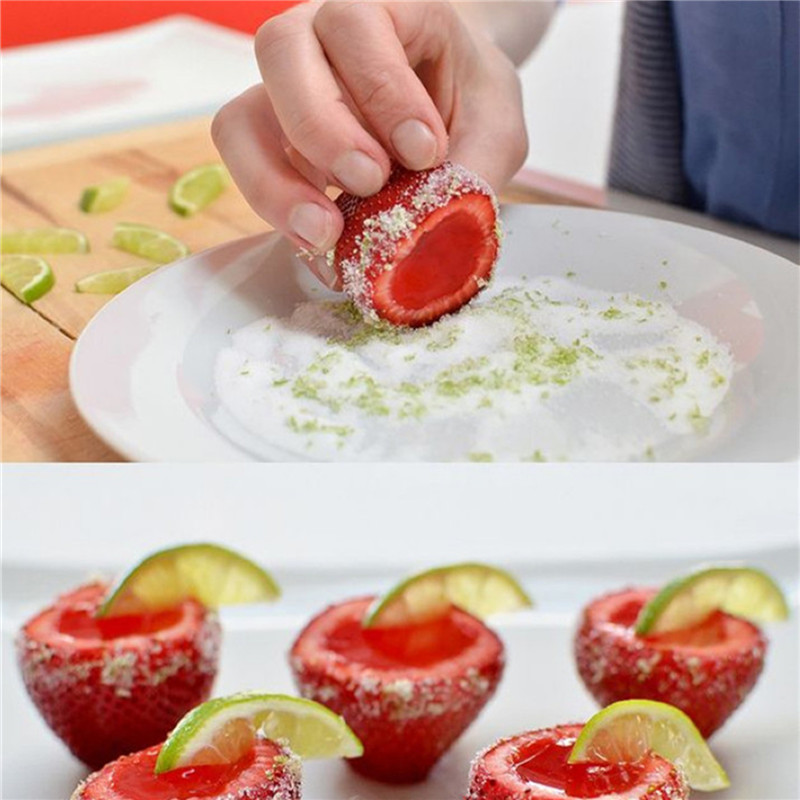 Strawberry Hullers Fruit Digging Tools Tomate Nuclear Corers Stalks Tige Remover Fruit Knife Kitchen Accessory